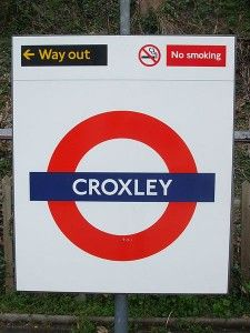 Step by Step Guide to Croxley Tube Station in London #London #stepbystep