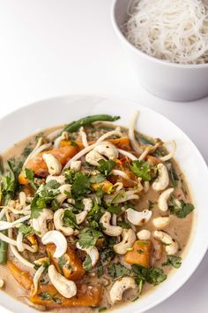 Spicy Squash Satay Broth is perfect for when you're feeling a bit under the weather!
