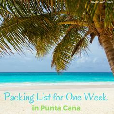 We are counting down the days until our June vacation to Punta Cana in the Dominican Republic. My husband, Mike and I are going to be staying at an All Inclusive Resort for a week. So I thou…