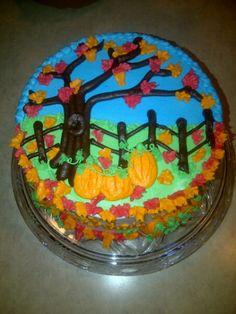 October Birthday Cake