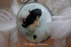Lady Ornament Christmas Collection by Bettineum on Etsy, $20.00