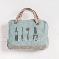 Make up First Cosmetic Bag