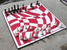 Unique Chess Board