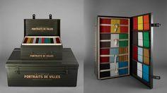 be-poles - Portraits de Villes — PORTRAITS DE VILLES —  Carte blanche, un artiste, une ville. Des livres rares de collectionneur.
