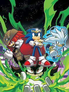 Sonic Super Special Magazine #4 by Ben Bates *