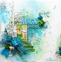 """Di's Creative Space: My 13Arts Guest DT January Reveal""""Magic Happens"""" Canvas"""