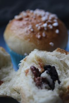 Paulas Frauchen: Cookies-&Milk Buns