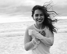 Emilia literally has THE best smile in human existence. It lights up the the world and its skies ❤️❤️