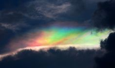 Rare 'floating rainbow' brightens sunset skies over southern China
