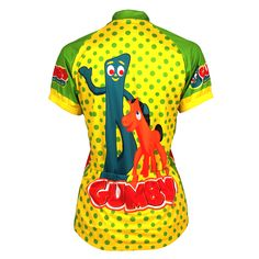 Gumby Women's Jersey - FREE Shipping on great cycling jerseys at cyclegarb.com