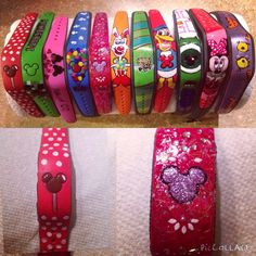 Has anyone decorated their Magic Bands? Please show us the pictures! - Page 195 - The DIS Discussion Forums - DISboards.com