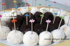 Fındıklı ve Kakaolu İrmikli Toplar Cake, Desserts, Food, Zero, Tailgate Desserts, Deserts, Kuchen, Essen, Postres