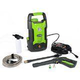 #9: GreenWorks GPW1501 13 amp 1500 PSI 1.2 GPM Electric Pressure Washer