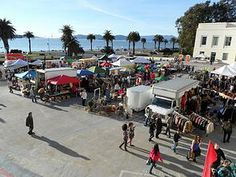 Check out the once/month flea market on Treasure Island. The view alone is worth the drive, but the fancy food trucks & shopping make for a great afternoon.
