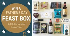 - Do You Want To Win a Father's Day feast to spoil Dad? - If yes, put 'yes' in the comments section Then follow this link Includes: Local Craft Beer - Salami - Cheese, Crackers & Pickle - Chorizo - Cashews -Biltong & £100 to spend at Morse Toad.