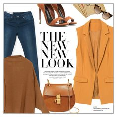 Spring Ready by genuine-people on Polyvore featuring polyvore fashion style Tom Ford Chloé Valentino women's clothing women's fashion women female woman misses juniors Spring orange brown vibes camel