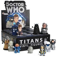 doctor who mystery figures titans vinyl toy tenth doctor