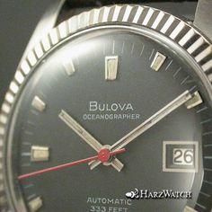 Vintage BULOVA OCEANOGRAPHER 333 FEET - Automatic Herrenuhr Stahl 36 mm ca. 1968 Bulova, Watch Deals, Cool Watches, Feet, Quality Watches, Clock, Ebay, Vintage, Accessories