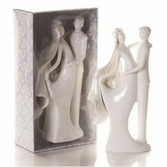 Porcelain Bride and Groom Cake Topper. Add a touch class to your wedding cake with our clear glass and porcelain wedding cake toppers! Wedding Cake Stands, Wedding Cake Toppers, Wedding Cakes, Love Cake Topper, Bride And Groom Cake Toppers, Bespoke Wedding Invitations, Personalized Wedding Favors, Elegant Bride, Cake Toppings