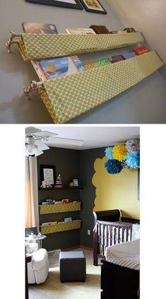 rangement chambre enfant DIY                                                                                                                                                      Plus