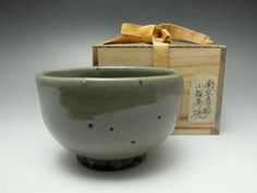 Antique Chinese Nanjing Celadon Bowl w Box fit for Japanese Tea Ceremony #1435