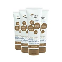 Mountain Falls Lovely Glow Daily Moisturizer MediumTan Skin Tones 75 Fluid Ounce Pack of 4 *** Be sure to check out this awesome product. #SkinCareMoisturizer