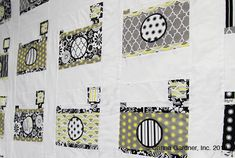 Vintage Camera Quilt Pattern - Free Download