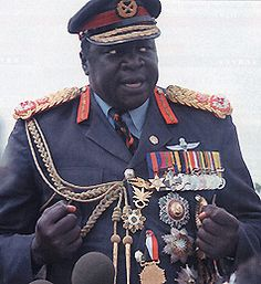 Feb - after a military coup, Idi Amin became President of Uganda. An evil, murdering Dictator who had thousands of people massacred African Dictators, Idi Amin, Military Coup, Evil People, African History, African Men, World Leaders, East Africa, World History