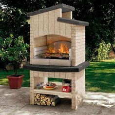Outdoor kitchens Outdoor kitchens in masonry- Cocinas al aire libre Cocinas al aire libre en mampostería Outdoor kitchens Outdoor kitchens in masonry - Barbecue Garden, Bbq, Barbecue Design, Decoration, Backyard, Cottage, House Design, Outdoor Decor, Outdoor Kitchens