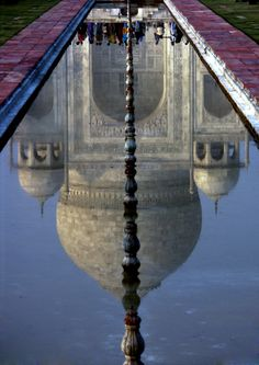 Taj Mahal reflection....another one that I must visit and is on my bucket list