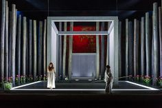 Angela Denoke as Kundry and Simon O'Neill as Parsifal in Parsifal © ROH / Clive Barda 2013 | Flickr - Photo Sharing!