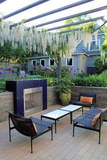 Seattle Urban Garden - contemporary - patio - seattle - by AHBL
