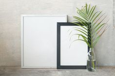 decorative frame in room by ptystockphoto on @creativemarket