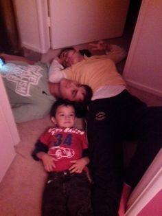 Mis hijos...lokillos !!