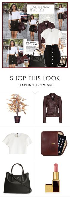 """""""Victoria Justice"""" by mery90 ❤ liked on Polyvore featuring AG Adriano Goldschmied, Neil Barrett, Prada and Tom Ford"""