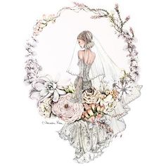 Off to 'a Morning with Wedded Wonderland!' Looking forward to being inspired & meeting some lovely industry folk 💕… Wedding Drawing, Wedding Dress Sketches, Wedding Art, Wedding Illustration, Illustration Art, Motifs Islamiques, Photos Booth, Girl Sketch, Fashion Design Sketches