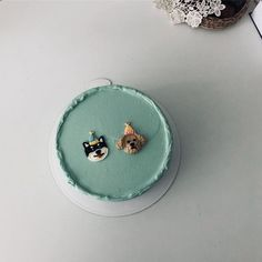 ✧ pin: @kånge Cute Cakes, Pretty Cakes, Beautiful Cakes, Cake Cookies, Cupcake Cakes, Korean Cake, Cute Baking, Estilo Rock, Dessert Decoration