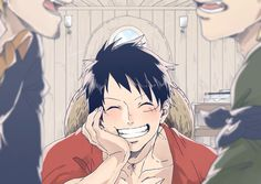 Luffy finding positivity in everything <3