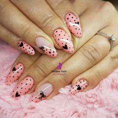 Creative Nail Designs, Colorful Nail Designs, Beautiful Nail Designs, Beautiful Nail Art, Creative Nails, Nail Art Designs, Shellac Colors, Nail Colors, Luv Nails