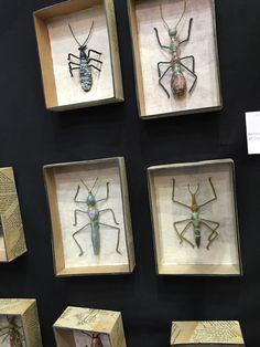 Exposition Ob'Art Laurence Lehel, sculpture papier mâché