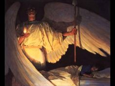 Watcher In the Night by Thomas Blackshear. I found little cards @ Bereans with this on them. Thank You Jesus for our guardian angels. Art Prophétique, Op Art, Thomas Blackshear, My Guardian Angel, Prophetic Art, Biblical Art, Angels Among Us, Spiritual Warfare, Bible Art
