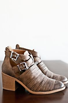 Off Road Booties-Taupe