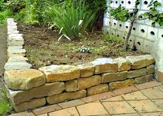 mein inselbeet mit trockenmauer * - bilder und fotos | garten, Garten und Bauen