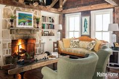 This Kennebunkport, Maine Farmhouse is an old-fashioned classic, one that harnesses the best design features of a contemporary home with the rustic charms of an old country house...