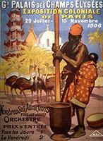 Paris' Human Zoos Exposed at the Musée du Quai Branly Vintage French Posters, Vintage Travel Posters, Vintage Ads, History Page, History Facts, History Class, Human Zoo, France Eiffel Tower, Posters