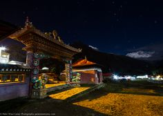 Buddhist temple in the Himalaya