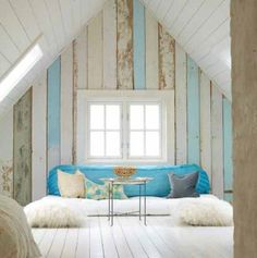 Just like the colours of the wood. Makes me feel relaxed