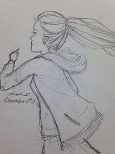 Image result for girl in skirt sketch