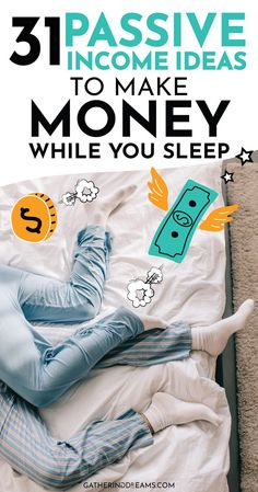 READY TO MAKE MONEY WHILE YOU SLEEP?I am going to share the best 31 passive income ideas for beginners. Plus I share all the passive income streams I used to become financially free and quit my job! Money saving Tips, Money Tips, Money Hacks, Passive Income Ideas, Streams of Income, Passive Income Streams, Make Money Online, Side Hustle #passiveincome #financialfreedom #makemoney Make Money Blogging, Make Money From Home, Money Tips, Money Saving Tips, Way To Make Money, Make Money Online, Money Hacks, Saving Ideas, Passive Income Sources