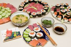 Japanese dinner at home. Great date night idea!